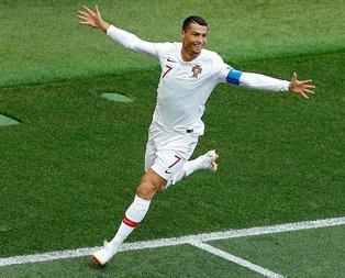 Ronaldo'dan futbol Faslı!