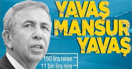 CHP'li Yavaş'tan skandal harcama!