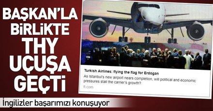 Türk Hava Yollarının yükselen değeri İngiliz basınında