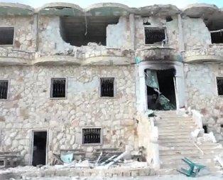Teröristlerin Afrindeki en kritik karargahı yerle bir edildi