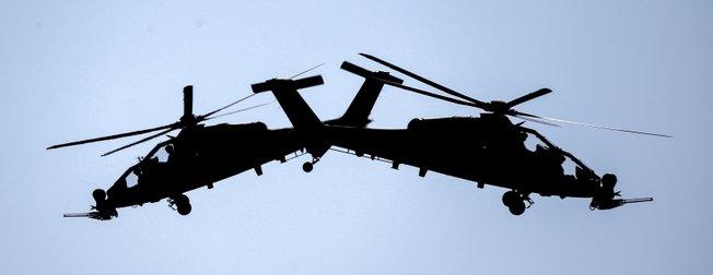 TEKNOFEST'te ATAK helikopterleriyle nefes kesen şov