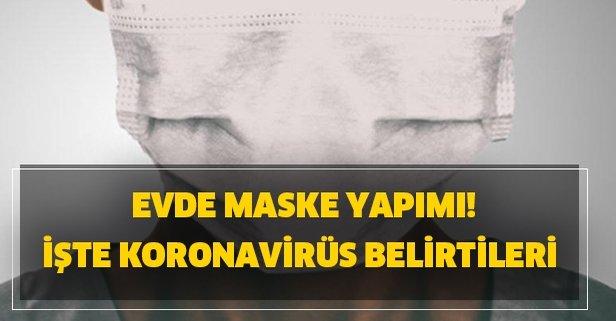 Evde Maske Yapimi Evde Corona Virusu Icin Maske Nasil Yapilir