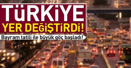 Türkiye yer değiştirdi!