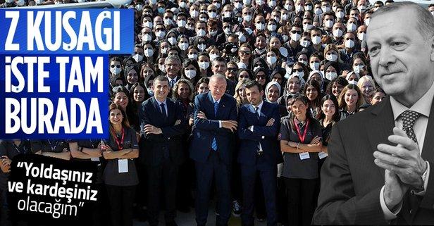 Başkan Erdoğan Z kuşağına seslendi