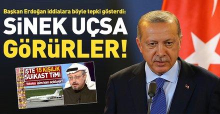 Son dakika: Cumhurbaşkanı Erdoğan: Oradan sinek çıksa sistem bunu yakalar