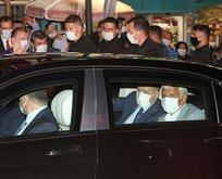 Başkan Erdoğan memleketine geldi