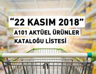 A101 22 Kasım aktüel ürünler kataloğu! A101de bu hafta hangi ürünler indirimli?