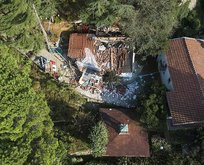 Adnan Oktar örgütünün kaçak villaları yıkılıyor