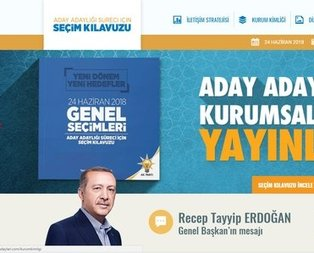AK Partiden 24 Hazirana özel web sitesi