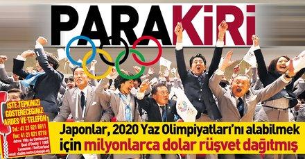 Japonlar, 2020 Yaz Olimpiyatları'nı alabilmek için milyonlarca dolar rüşvet dağıtmış