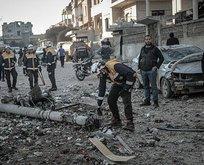 Katil Esad yine sivilleri hedef aldı