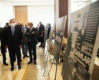 Başkan Erdoğan ve Çiller 12 Eylül fotoğraf sergisini gezdi