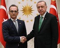 Erdoğan Almanya Dışişleri Bakanı Heiko Maas'ı kabul etti