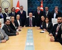 Başkan Erdoğan, Trump'la görüşmesinin ayrıntılarını anlattı