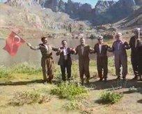 PKK'dan temizlenen İkiyaka Dağları'nda halay keyfi