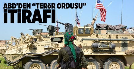 ABD'den 'PKK ordusu' itirafı