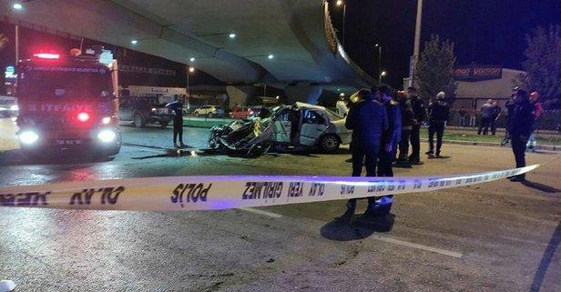 Trafik kazasından üç kişinin cenazesi çıkarıldı