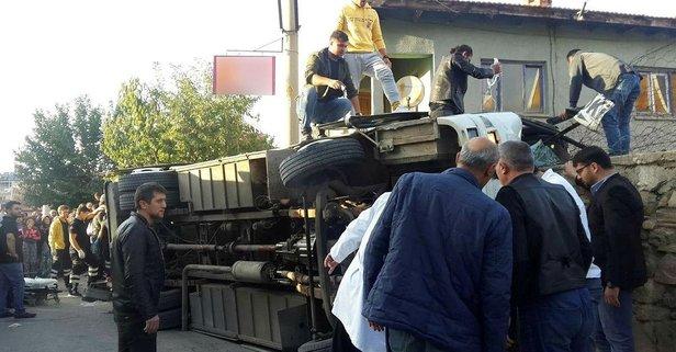 Uşak'ta feci kaza! Çok sayıda yaralı var!