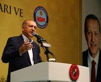 Erdoğan İstanbulda iftar programına katıldı