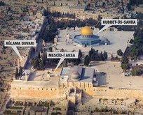 İşgalci İsrail'e Mescid-i Aksa tokadı!