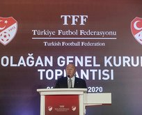 TFF Başkan ve Yönetim Kurulu oy birliğiyle ibra edildi