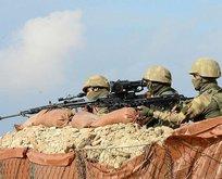 PKK/YPG'ye ait hedefler vuruldu
