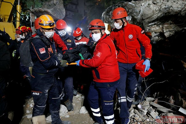 İzmir'deki deprem dünya basınında!