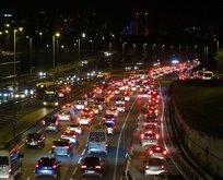 Kısıtlama sonrası İstanbul'da dikkat çeken görüntü