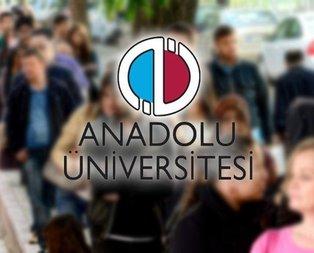 AÖF taban tavan puanları açıklandı! 2019-2020 Anadolu Üniversitesi AÖF bölümleri neler?