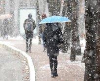 Meteorolojiden o illere kar uyarısı