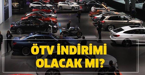 ÖTV indirimi olacak mı? 2020 ÖTV indirimi var mı? ÖTV oranı ne kadar olacak?