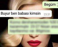 WhatsApp mesajına sevgilisinin babasından öyle bir cevap geldi ki!