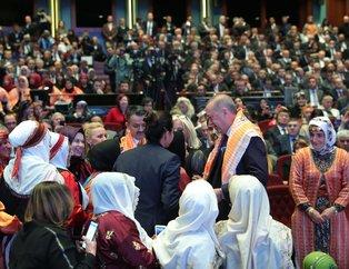 Günün karesi Külliye'den! Başkan Erdoğan ve çiftçilerden yürek ısıtan görüntüler