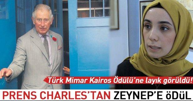 Prens Charles'tan Zeynep'e ödül