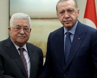 Başkan Erdoğandan Abbasa destek telefonu