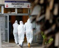 İtalya'da korkunç koronavirüs görüntüleri