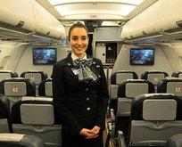 Türk Hava Yolları (THY) kabin memurundan örnek davranış
