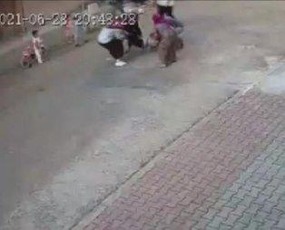 İstanbul'da pitbull cinsi köpek, sokakta top oynayan çocuğa saldırdı! Dehşet anları kamerada