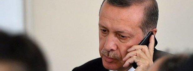 Erdoğandan Desticiye geçmiş olsun telefonu