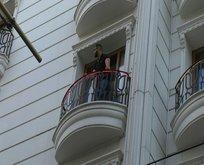 Eminönü'nde korkutan otel yangını!