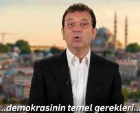 İmamoğlu, kötü İngilizceyle Türkiye'yi şikayet etti