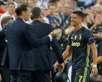 Cristiano Ronaldo gözyaşlarını tutamadı!