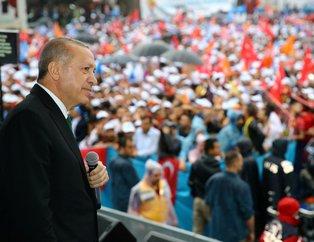 Cumhurbaşkanı Erdoğan AK Parti Malatyada mitinginde konuştu