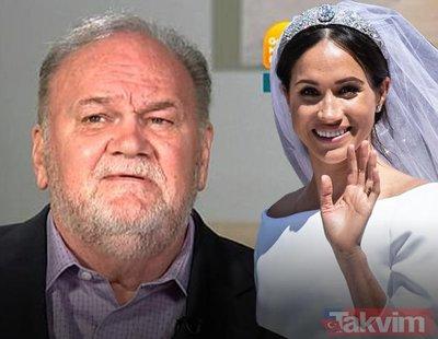 Prenses Meghan Markle'yi babası yine rezil etti