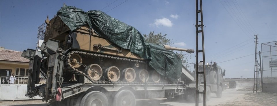 Suriye Sınırına Tank Ve Fırtına Obüsü Sevkiyatı Galeri Takvim