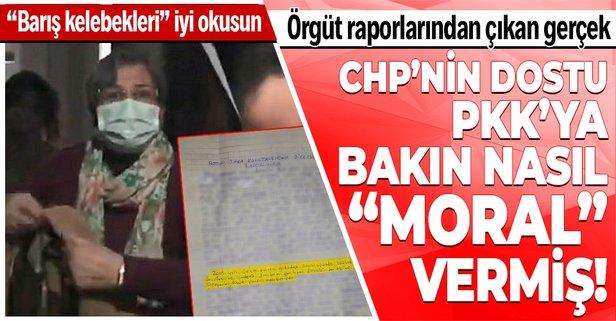 CHP'nin dostu örgüte bakın nasıl moral vermiş!