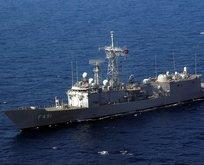 Yunan gemisini Türk fırkateyni kurtardı
