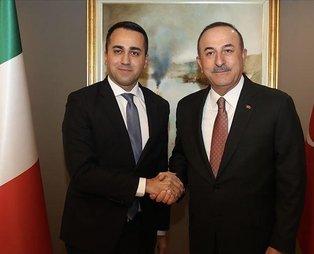 Son dakika: Dışişleri Bakanı Mevlüt Çavuşoğlu, İtalyan mevkidaşı Luigi Di Maio ile görüştü