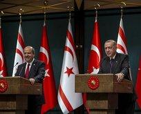 KKTC'de Başkan Erdoğan heyecanı