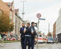 Almanya'da saldırı! Yaralılar var
